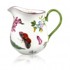 The design of this exclusive range of English fine bone china is closely derived from the large collection of botanical Chelsea porcelain acquired by Queen Elizabeth The Queen Mother. Chelsea, China Buy, Royal Collection Trust, Clarence House, English China, Bow Bracelet, Queen Mother, Stoke On Trent, Buckingham Palace
