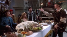 A dinner scene very similar to ours, unfortunately ours is minus Cary Elwes.