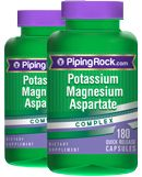 Potassium Magnesium Aspartate Complex 2 Bottles x 180 Capsules