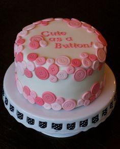 AMAZING BUTTERCREAM FROSTING BABY SHOWER CAKES   Baby Shower Cake - Lemon Cake with Orange Buttercream. Fondant ...
