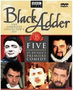 "Blackadder - Comedy covering several key periods of British history (one per season) from the Middle ages to WW1, following the struggles of ambitious Lord Blackadder (Rowan Atkinson) and his dim-witted servant Baldrick through the ages, satirizing several real-life historical characters and events along the way. History-geeks rejoice and get your ridiculous on--""I have a cunning plan"" ;)"