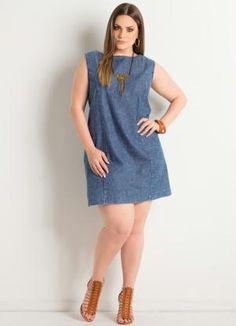 Fashion Ideas For Plus Size Women - Fashion Trends Plus Size Jeans, Plus Size Casual, Denim Fashion, Curvy Fashion, Boho Fashion, Lovely Dresses, Beautiful Outfits, Plus Size Dresses, Plus Size Outfits