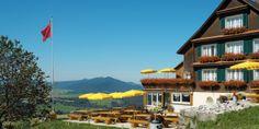 Restaurant Körnlisegg, Egg bei Einsiedeln, im Sommer