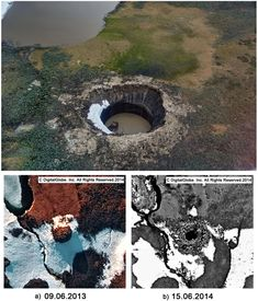 Cryovolcanism on the Earth: Origin of a Spectacular Crater in the Yamal Peninsula (Russia)