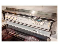 Spice rack Oven/Stove Spice Rack | Etsy Stove Oven, Kitchen Stove, Kitchen Decor, Kitchen Backsplash, Kitchen Ideas, Kitchen Design, Microwave Stand, Microwave Shelf, Stove Installation