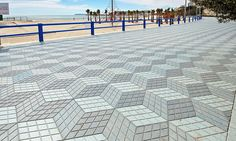 Watch your step: The crazy paving that's leaving holidaymakers all at sea