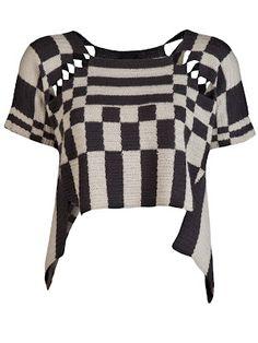 Crazy Cool Crochet Top ~ Inspiration!
