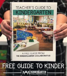 Grab your Free Teacher's Guide to Kindergarten. It's loaded with all sorts of tips and tricks for your early chlidhood classrooms.  It has printables and even some signs to print and display!