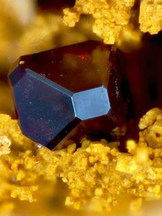 Cuprite - Clara Mine, Rankach valley, Oberwolfach, Wolfach, Black Forest, Baden-Württemberg, Germany FOV : 1.12 mm