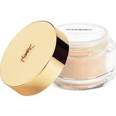 YVES SAINT LAURENT Souffle d'Eclat loose powder (703.680 IDR) ❤ liked on Polyvore featuring beauty products, makeup, face makeup, face powder, beauty, loose face powder and yves saint laurent