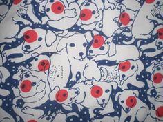 Lilly pulitzer vintage bull terrier dog print swim retro trunks 40