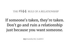 Rules of a relationship ( THANK YOU )