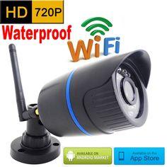 Ip camera 720 p HD wifi outdoor wateproof cctv beveiligingssysteem surveillance mini draadloze cam infrarood P2P weerbestendig mini thuis