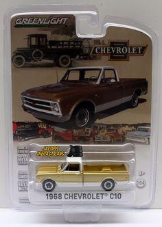 1:64 GREENLIGHT ANNIVERSARY COLLECTION SERIES 3 -1968 CHEVROLET C10 PICKUP TRUCK #GreenLight #Chevrolet