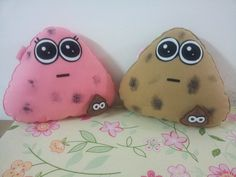 Handmade Pou Dirty Stuffed Animal Toy Pillow di RbitencourtUSA, $24.95
