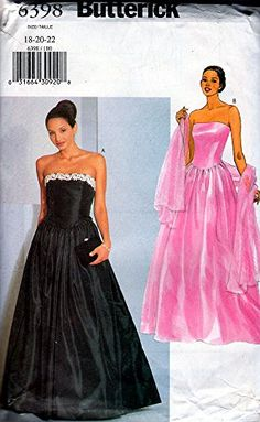 Patterns for Pageant Dresses