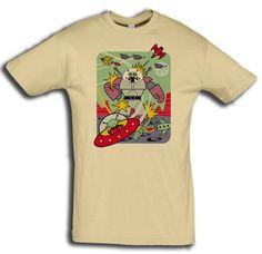 """T-Shirt men """"Invasion"""" - FREIE FARBAUSWAHL von MAD IN BERLIN auf DaWanda.com"""