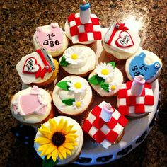 A Baby Cachet favorite! Glee co-star Heather Morris's baby shower treats