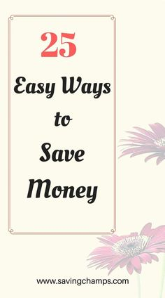 Here are 25 easy ways to save money and improve your budget. Money-saving tips, frugal living, budgeting, personal finance, how to save money. Ways To Save Money, Money Tips, Money Saving Tips, Managing Money, Money Hacks, Cost Saving, Frugal Living Tips, Frugal Tips, Frugal Meals