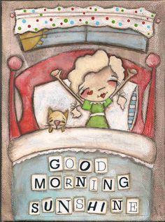 Good Morning Sunshine.  ©dianeduda/dudadaze