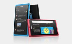 The Nokia N9 is so beautiful. I actually really want one but they're like $800 or something.