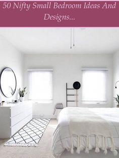 Make Your Bed Minimally - Minimalist bedroom with undone bed and hanging sculptural globe pendant light. Keep the bedding simple. White linen sheets a... Modern Minimalist Bedroom, Minimalist Interior, Linen Sheets, Make Your Bed, Globe Pendant, Fashion Room, Bedding, Bedroom Decor, Interior Design