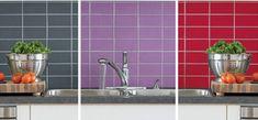 """Avec les nuanciers Julien, V33 et Résinence, l""""embarras du choix pour une peinture carrelage."""