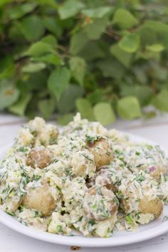 Just Eat It, Tasty, Yummy Food, Food Inspiration, Potato Salad, Side Dishes, Food Porn, Food And Drink, Potatoes