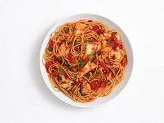 Spicy Pasta With Tilapia Recipe : Food Network Kitchens : Food Network - FoodNetwork.com
