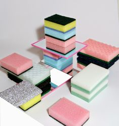 cv j   #sponges #colors #display