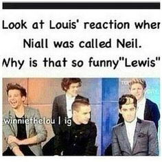 I laughed WAYYY too hard at this.... We also can't ignore Niall's face! Hahaha