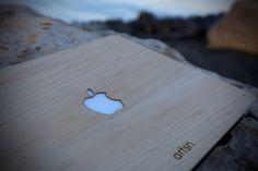 handmade real wood macbook skin covers shipping worldwide from usa