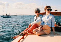Sarah Vickers adventures in New England living, classic fashion, and travel. Big Yachts, City By The Sea, Couple Activities, Prep Style, Beach Kids, Nautical Fashion, Yacht Club, Cape Cod, Newport