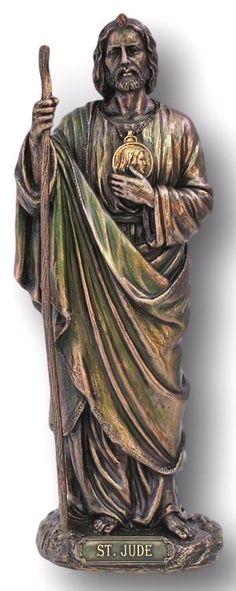 san judas tadeo figura marmolina 11 cmts manualitats pinterest
