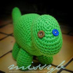 Bob the Dinosaur pattern on Craftsy.com