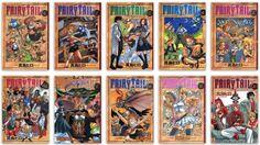 FAIRY TAIL #1-10 Comic Set Hiro Mashima Japanese comic manga