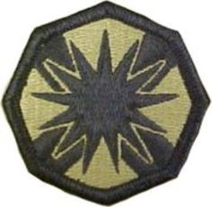 13th Sustainment Command Multicam Patch - Brought to you by Avarsha.com