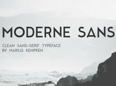 10-Moderne Sans