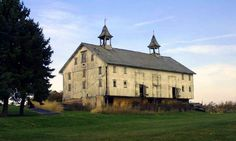 The two large cupolas on this barn make it stand out among most other Ohio barns. It's located in Portage County.