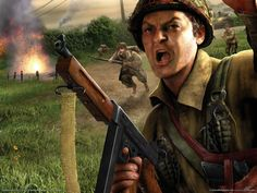 Brothers in arms - This HD N/A wallpaper is taken from N/A Brothers in Arms: Hell's Highway. Played by Troy Baker, Chris Burnett, Dale Dye, Gideon Emery. This Action, Adventure N/A plot storyline is about: Set during the events of World War 2 Europe, the game follows the men of the 101st Airborne Division... - http://muviwallpapers.com/brothers-in-arms.html #Arms, #Brothers #Games