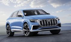Audi Q8 plug-in hybrid SUV concept debuts at the Detroit Auto Show | Inhabitat - Green Design, Innovation, Architecture, Green Building