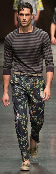 Dolce & Gabbana Spring 2016 Menswear