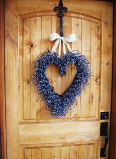 MOTHERS DAY LAVENDER Scented WreathFront Door by WildRidgeDesign, $60.00