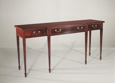 24009 // Decca // Traditional Collection // Console With Drawers