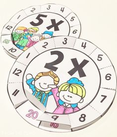 Multiplication Wheels Interactive Fun for Times Tables by sherry