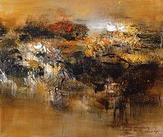 Wang Yan Cheng, Sans titre, 2008. Galerie Patrice Trigano.