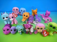 2014 TY TEENIE BEANIE BOO S SET OF 16 McDONALD S HAPPY MEAL KID S TOY S . 26313f86663