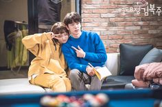 [behind the scenes] Nam Joo Hyuk & Lee Sung Kyung ♥  Weightlifting Fairy Kim Bok Joo