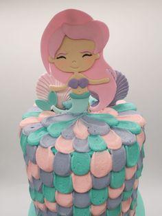Mermaid Cakes, Cinderella, Disney Characters, Fictional Characters, Treats, Disney Princess, Art, Sweet Like Candy, Art Background