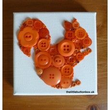 Button art Squirrel